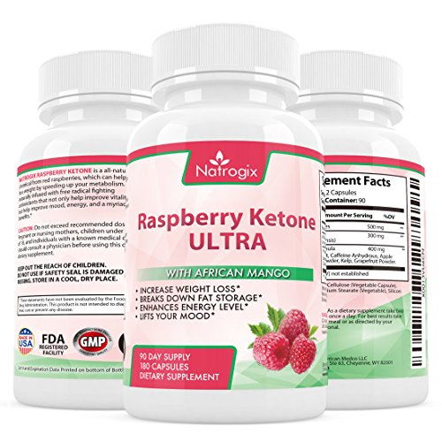 natrogix raspberry ketone formula ultra antioxidants blend for weight loss break down fat. Black Bedroom Furniture Sets. Home Design Ideas